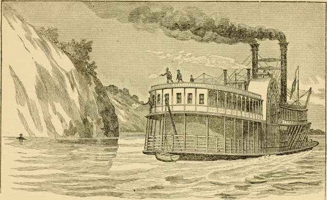 Two ferries take turn receiving thick cock