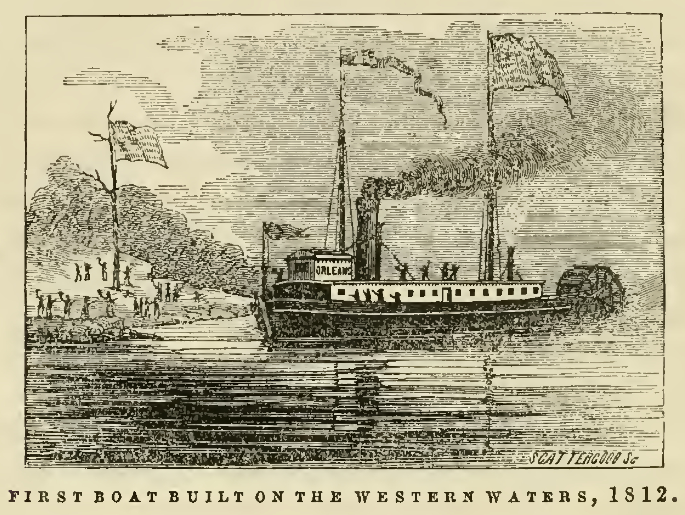 the first steamboat ever produced in louisiana Slavery in louisiana close the german coast soon became the main supplier of food to new orleans produced by the the arrival of the first steamboat in 1812.