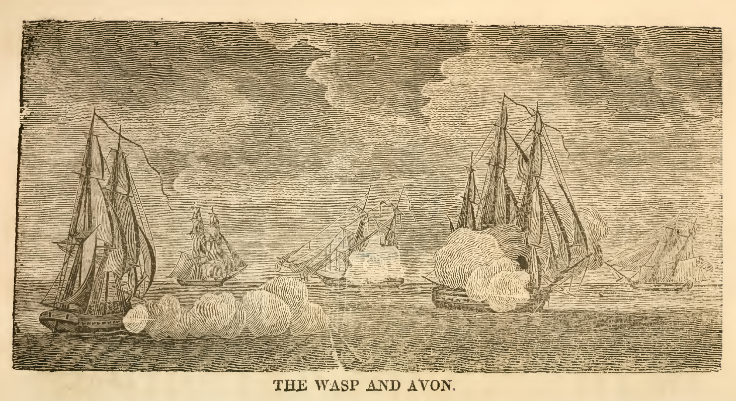 Counting the Wasp's complement as full (though it was probably two or three  short), taking James' statement of the crew of the Avon as true, including  the ...