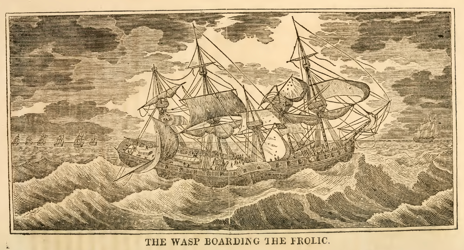 The Wasp Boarding the Frolic