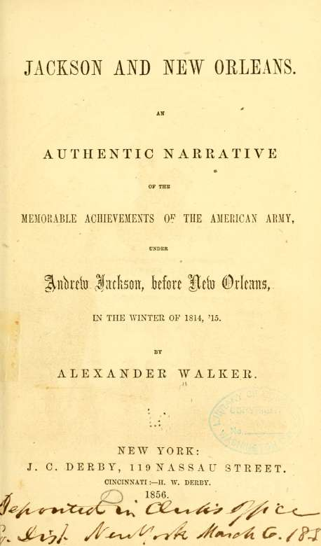 Walker Jackson And New Orleans